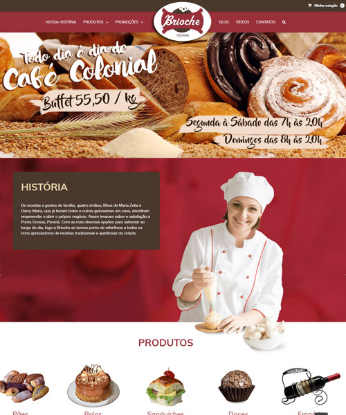 Criacao De Sites Brioche
