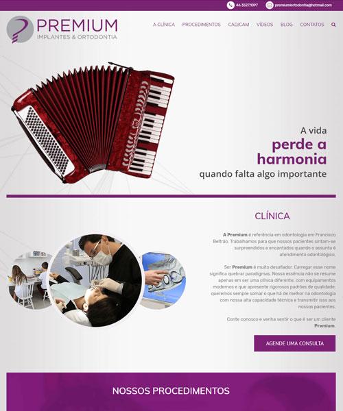 Criacao De Sites Premium Implantes