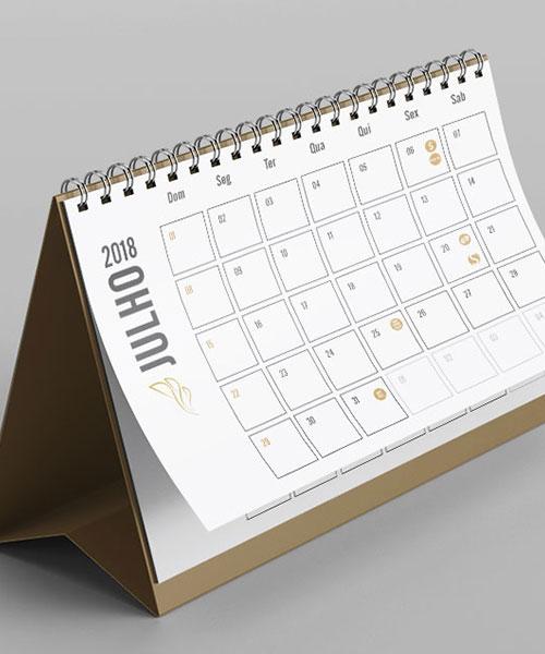Calendario Officer Peq