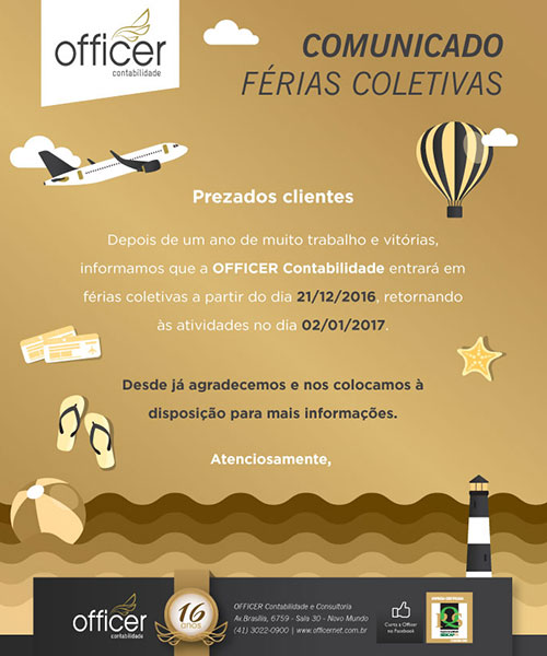 Criacao De Newsletter Officer 1
