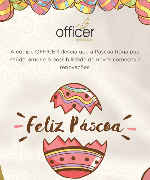 Criacao De Newsletter Officer Pascoa