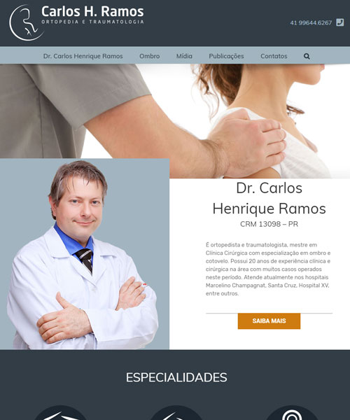 Criacao De Sites Dr Carlos henrique Ramos
