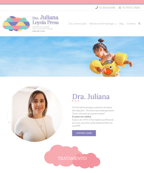 Criacao De Sites Juliana Loyola