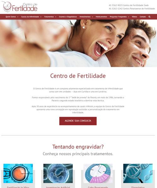 Criacao De Sites Centro De Fertilidade Saab
