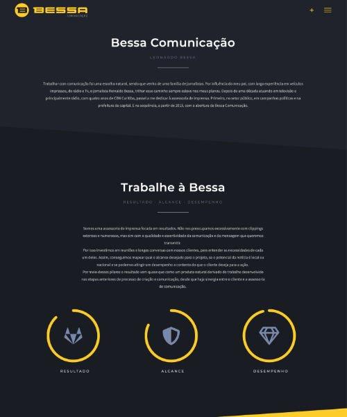 Criação de Sites Bessa Comunicacao