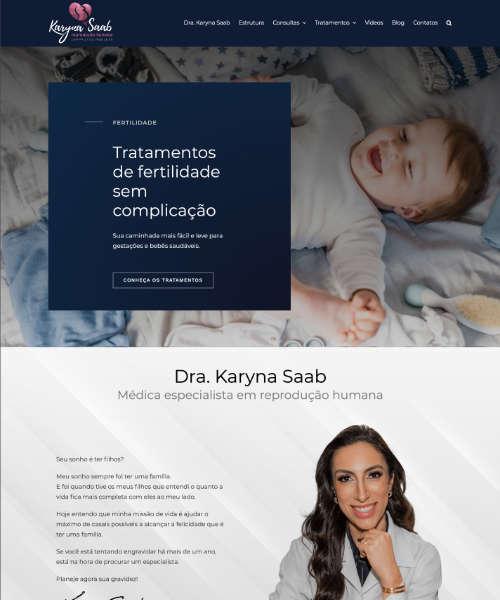 Criação de Sites Karyna Saab